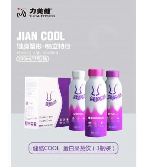健酷COOL蛋白果蔬饮(3瓶装)